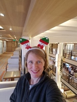 Celebrating Christmas in the atrium