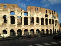 The Colliseum in Rome