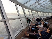 Ovation of the Seas.The Solarium Forward of ship. The only respite from noi