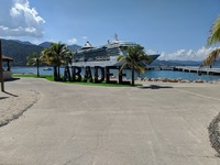 Ship at Labadee