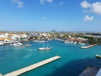Aruba from the ship!