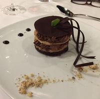 Typical dessert at the Versailles