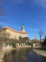 Part of the State Castle and Chateau, Český Krumlov
