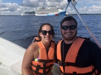 Fishing excursion (booked through TripAdvisor) in Costa Maya, Mexico.