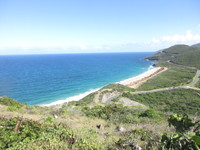 Scenic overlook in St Kitts