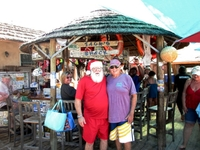 Jack and Santa at Jack's Shack