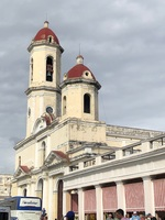 Scenery in downtown Cienfuegos