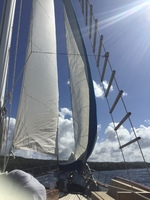 Beautiful day sailing