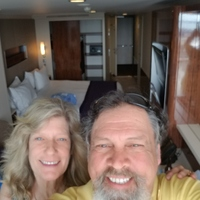 Our first time in our stateroom