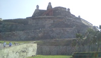 Castillo in Cartagena