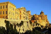 If you're in Cagliari, Sardinia for sunrise, be sure to go to Bastion S