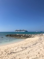 Regal Princess at Princess Cays.