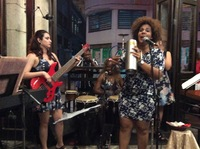 Music in a restaurant Havana
