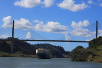 Bridge over the Panama Canal