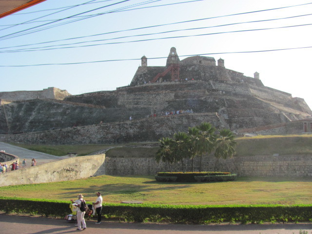 Main Fort in Cartegena