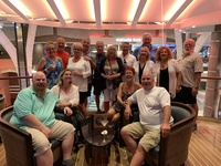 Our group at the Schooner Bar