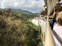 Caribbean Rail Line Tour on St. Kitts