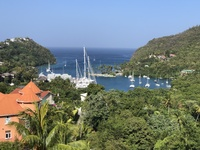 View on St. Lucia