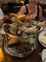 Seafood tower at Chops