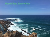 Port if calk: Mossel Bay, South Africa.