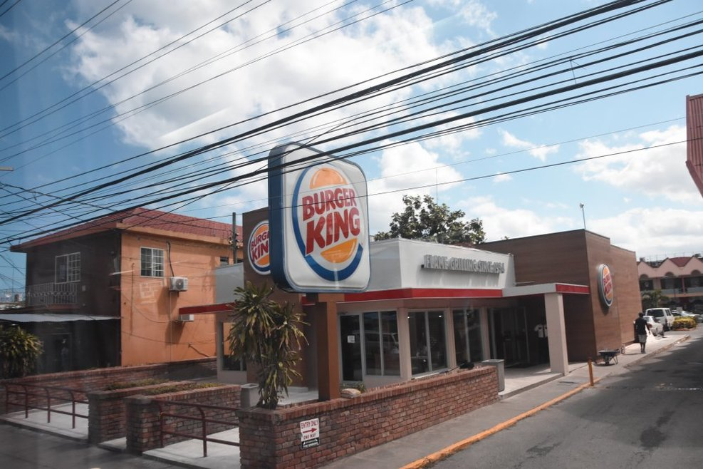 Mamaica had everything... including a Burger King!