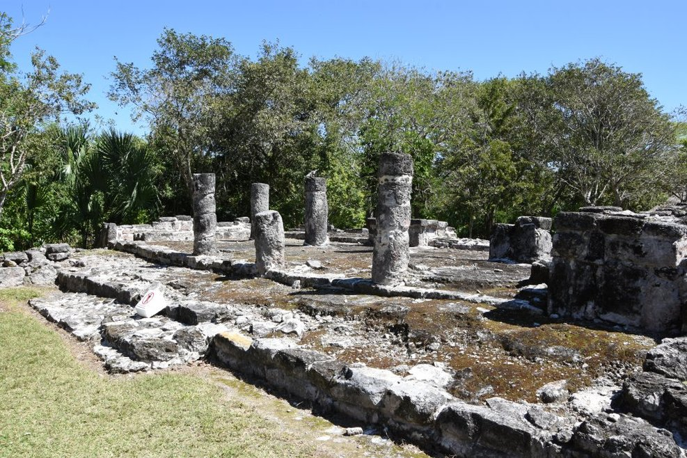 More of the Mayan ruins at San Gervasio.