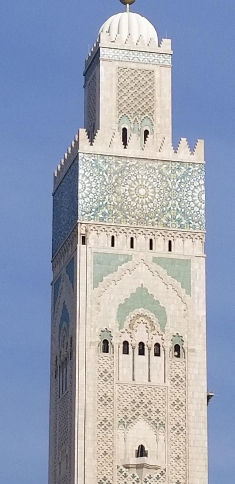 Moroccan mosque.