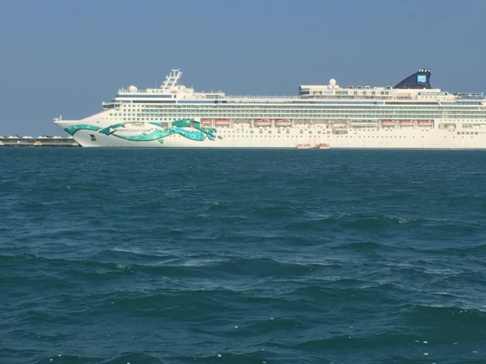 THE JADE!  It did not disappoint!!!  We Had A Great Cruise!!!!