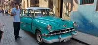 Here was our classic car in Cuba