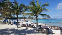 "Great Stirrup Cay View from ""Bacardi Bar"""