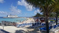 "Great Stirrup Cay - ""near"" beach"