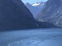 The famous southern New Zealand Fiordland