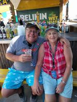 Belize City - Having some drinks