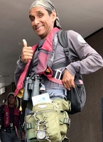 GuideCarlos has a new daypack with compass!