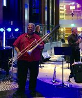 Big Mike and band in Grand Foyer