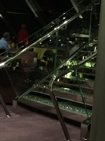 crystal staircase in topsail lounge