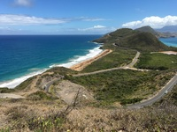 A view of a bay in St Kitts taken on one of our tours