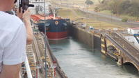 Panama Canal, oil tanker