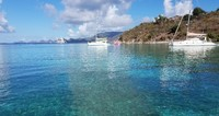 One of the snorkeling spots in Tortola. Island Time Charters