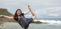 This photo is of my oldest in one of the ports, Puerto Rico!