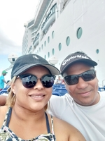 My wife & I, just about to embark onto the MSC Musica