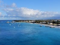 Grand Turk view from cabin