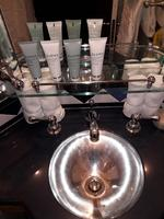 Elemis given supposed to last 5 nights with 3 people. Vanity still from the