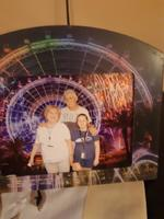 we are in Orlando Eye, Aquarium and Madam  Tussouds museum.