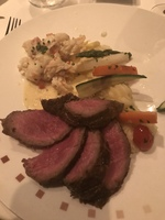 Murano restaurant- lobster w/chateaubriand!!