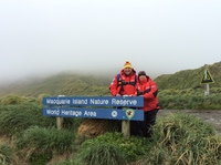 World heritage island Maquarie in Southern ocean
