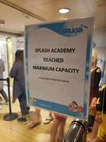 Children's splash academy closed do to capacity, every day while the cr