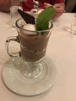 After eight mint mousse