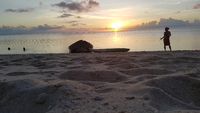Sunset on Lizard Island