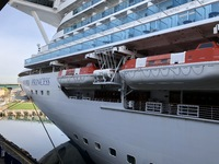 The Ruby Princess.